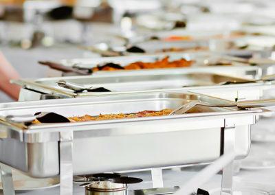 Photo d'une cuisine traiteur sur mesure